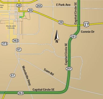 CCSE1 map