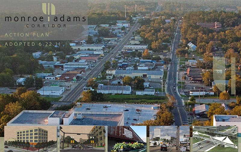 Monroe Adams aerial view