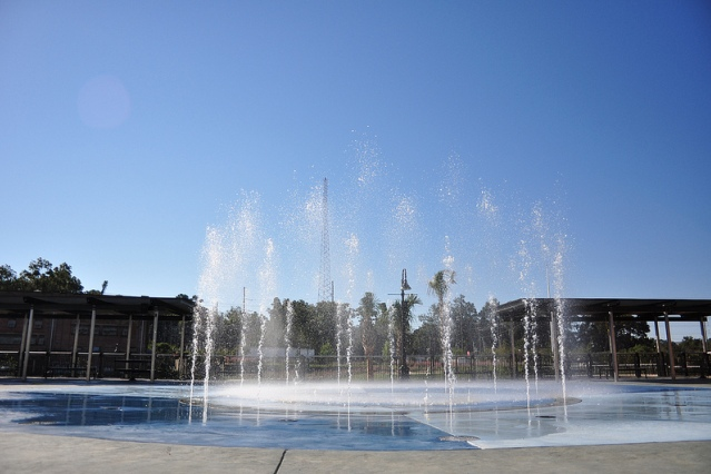 cascades park fountain