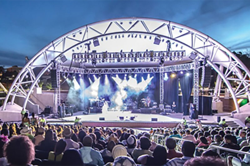 cascades park concert