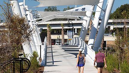 Pedestrian Trail Bridge